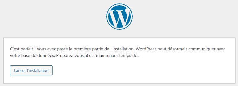 Installer WordPress sous Linux : c'est le grand moment !