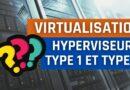 Les types d'hyperviseurs : hyperviseur de type 1 et de type 2
