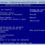 WS 2012 Core – Définir une adresse IP statique