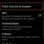 Utiliser un mobile sous Android ICS comme modem internet