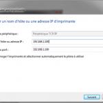 Ajouter une imprimante réseau sous Windows