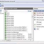 Autoriser le ping sous Windows 7 en configurant le Pare-feu