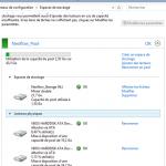 Les Espaces de stockage de Windows 8