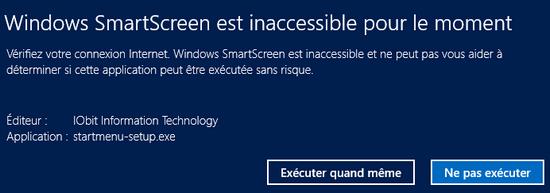 Filtre SmartScreen