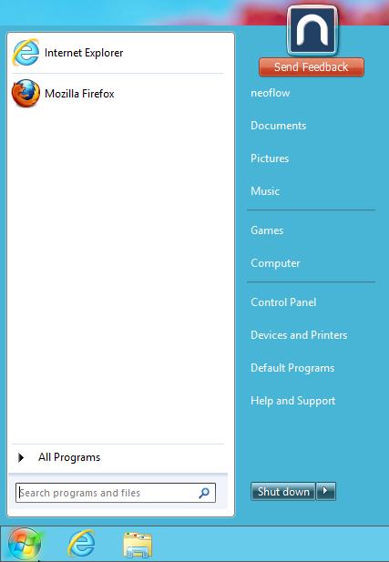 StartMenu8 menu démarrer