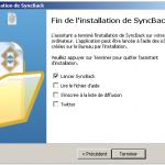 Planifier une synchronisation de répertoires avec SyncBack
