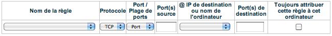 Transfert de ports Bouygues