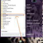Ajouter une application au démarrage sous Windows 7