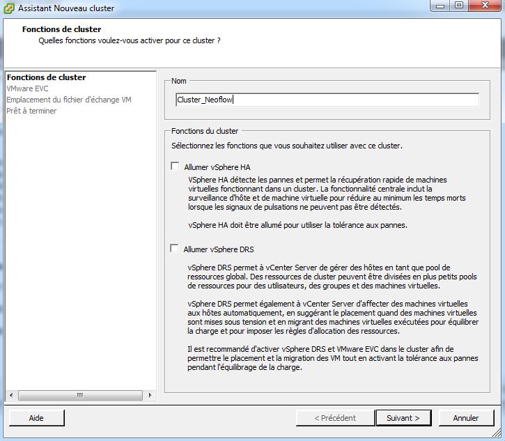 VMware vSphere et les clusters   VMware   IT-Connect