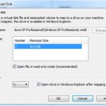 Monter un disque dur virtuel VMDK dans Windows