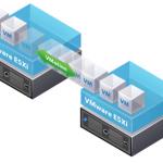 Migration à chaud de machines virtuelles avec VMware vSphere et le vMotion