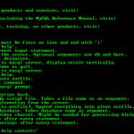 Base de la ligne de commande sous MySQL