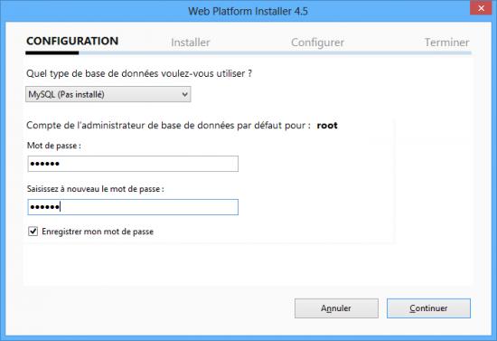 Wordpress via Web Platform