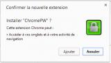 Chrome : Protéger ses mots de passe