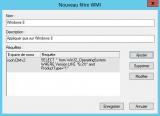 Filtre WMI pour l'OS dans les GPO
