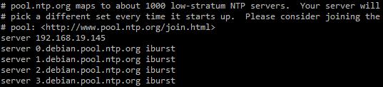 Client NTP sous Linux