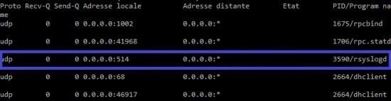 serveur rsyslog linux