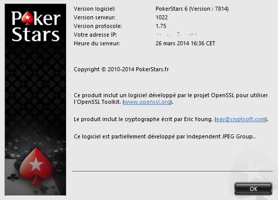 Pokerstars OpenSSL