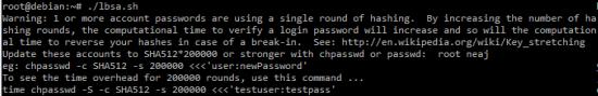 lbsa securite linux