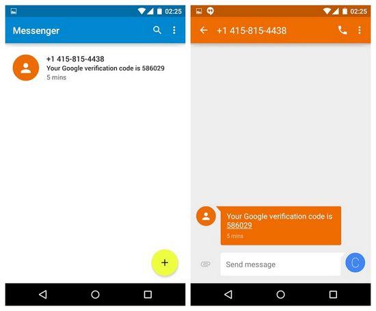 Messenger Android Lollipop