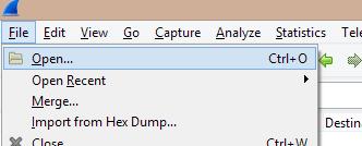 tcpdump pcap fichier