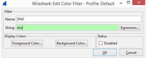 couleur wireshark