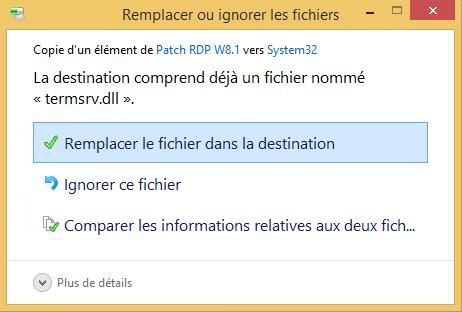 Bureau distance activer le multiple rdp sous windows 8 - Activer le bureau a distance windows 7 ...