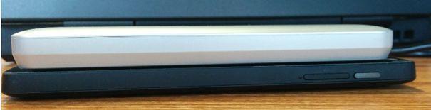 Toshiba Aero Mobile - Comparatif de la taille