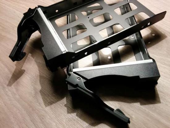 Asustor AS5002T - Les racks