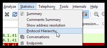 hierarchie-wireshark
