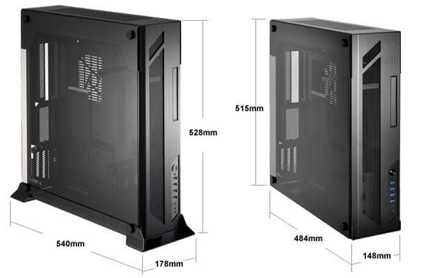 Lian-Li PC-O6S - Les dimensions