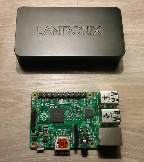 Lantronix xPrintServer VS Rapsberry Pi 2