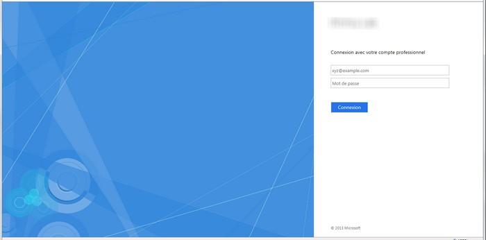 Exemple de portail ADFS