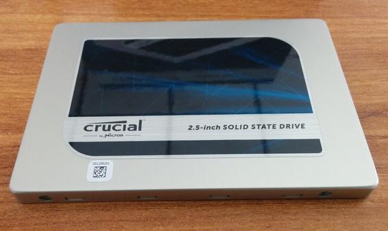 SSD Crucial MX200 - Vue de dessus