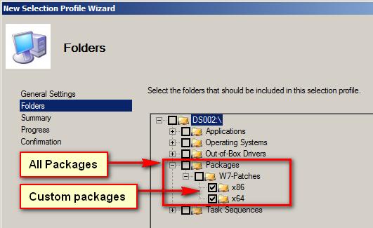 MDT : Création d'un profil de sélection personnalisé (custom) pour affiner l'installation des packages
