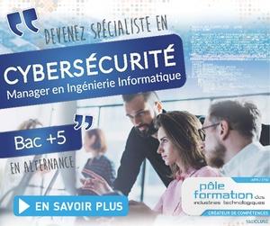 Formation bac+5 Cybersécurité