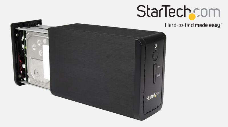 StarTech : Un nouveau boitier externe 2 disques