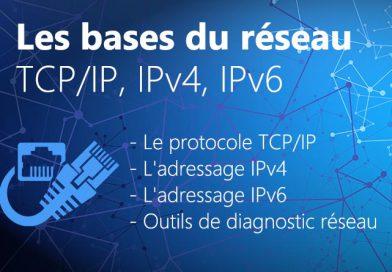 Les bases du réseau : TCP/IP, IPv4 et IPv6