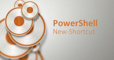 PowerShell : Comment créer un raccourci ?