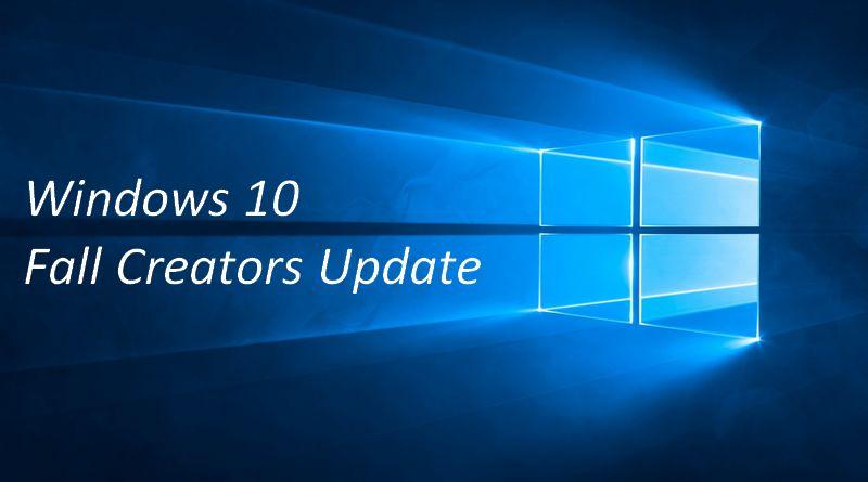Windows 10 Fall Creators Update : les principales nouveautés