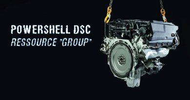PowerShell DSC : Ajouter un groupe AD membre d'un groupe local