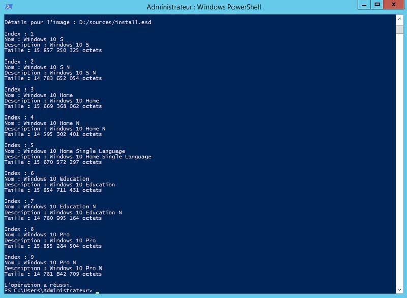 WDS : Convertir un fichier ESD en WIM | | Déploiement MDT