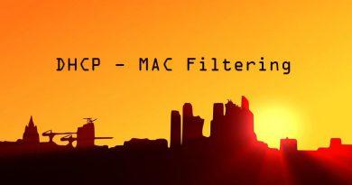 DHCP Windows Server : Filtrage MAC à l'aide des stratégies