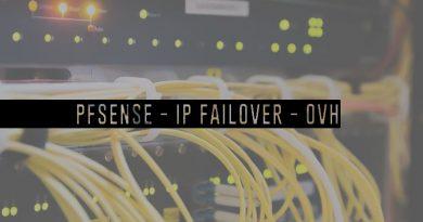 pfSense 2.4.3 : IP-Failover sur un ESXi chez OVH
