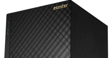 ASUSTOR annonce l'AS1002T v2 et l'AS1004T v2