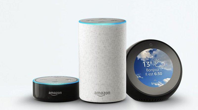 Les enceintes connectées Amazon Echo disponibles en France !