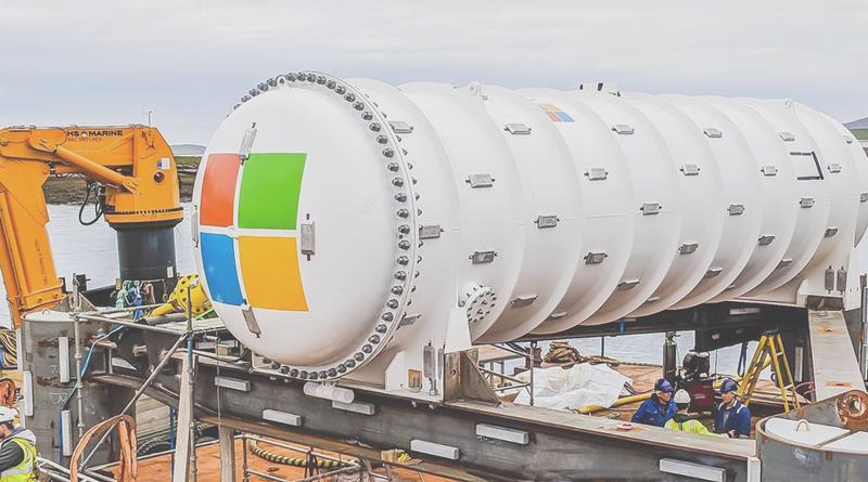 En Ecosse, Microsoft teste son datacenter sous-marin