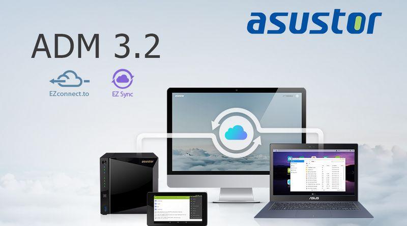 ADM 3.2 disponible, ASUSTOR lance Ezconnect.to et EZ Sync