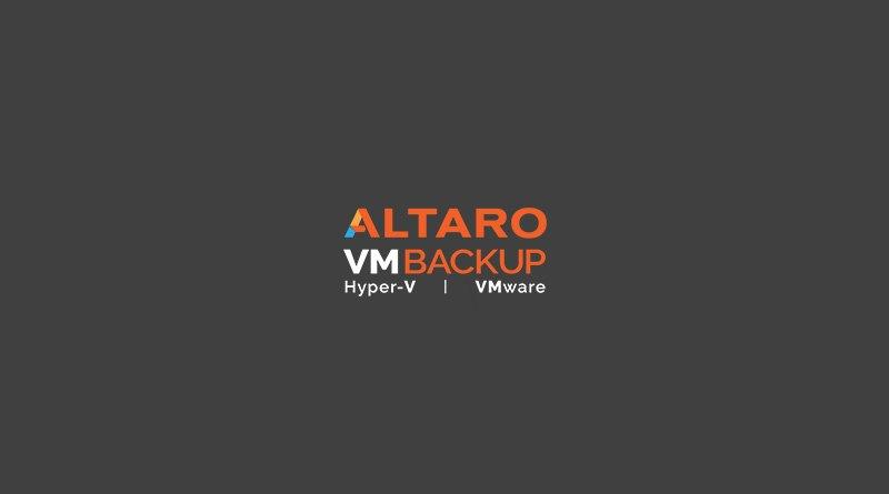 Nouveautés – Altaro VM Backup 8 : Réplication WAN et CMC