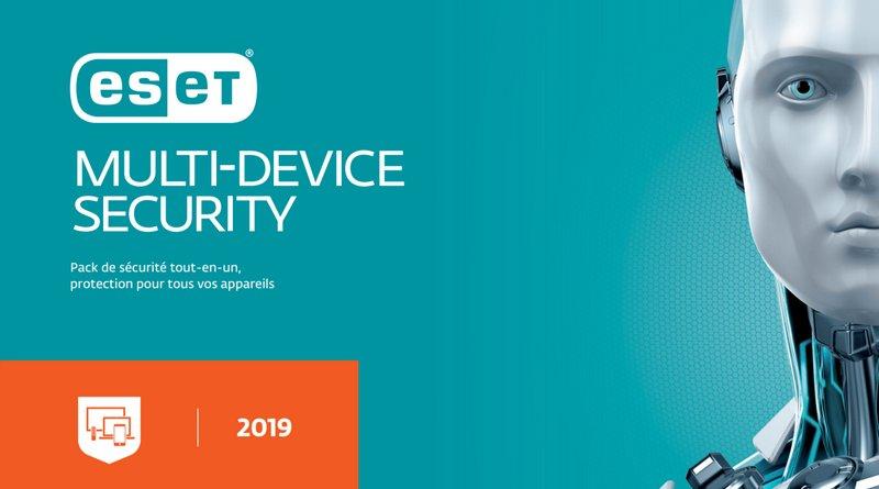 ESET Multi-Device Security 2019 : quelles sont les nouveautés ?